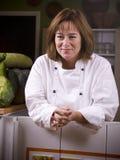 Gelukkige chef-kok Stock Fotografie