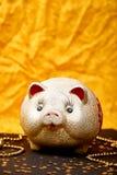 Gelukkige Chinese nieuwe jaar 2019 Chinese Vertaling Jaar van het gouden varken stock fotografie