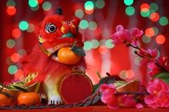 Gelukkige Chinese nieuwe jaarvieringen Stock Afbeelding