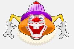 Gelukkige Clown Royalty-vrije Stock Foto