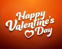 Gelukkige Dag Valentineâs stock illustratie