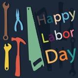 Gelukkige Dag van de Arbeid stock fotografie