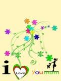 Gelukkige de Dag van de Moeder \ 's royalty-vrije stock foto's