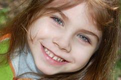 Gelukkige de lenteglimlach Stock Afbeeldingen