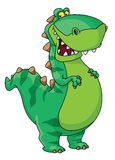 Gelukkige dinosaurus Royalty-vrije Stock Afbeelding