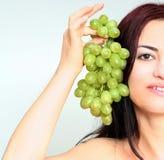 Gelukkige druiven Stock Afbeelding