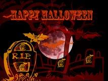 Gelukkige Enge zombiehand Halloween 2018 vector illustratie