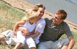 Gelukkige familie Stock Foto's