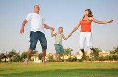 Gelukkige Familie Stock Afbeelding