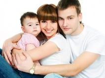 Gelukkige familie Stock Afbeeldingen