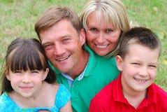 Gelukkige familie Royalty-vrije Stock Afbeelding