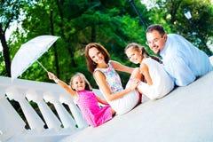 Gelukkige Familie Royalty-vrije Stock Fotografie