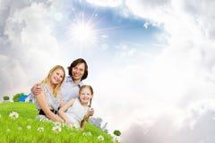 Gelukkige Familie Stock Fotografie