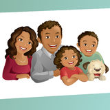 Gelukkige Familie vector illustratie