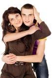 Gelukkige familie, moeder en zoon Stock Afbeelding