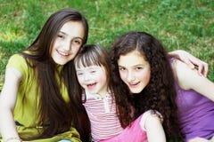 Gelukkige familieogenblikken Stock Foto's