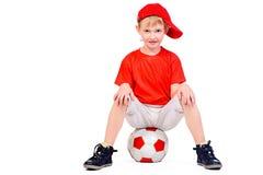Gelukkige footbal Stock Afbeelding