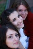 Gelukkige gezichten Royalty-vrije Stock Fotografie
