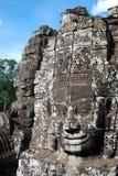 Gelukkige gezichten Kambodja Stock Afbeeldingen