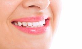 Gelukkige gezonde glimlach royalty-vrije stock foto's
