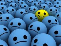 Gelukkige glimlach vector illustratie