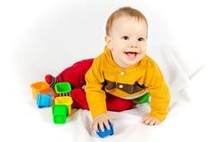 Gelukkige Glimlachende Baby royalty-vrije stock afbeelding