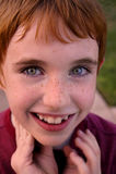 Gelukkige glimlachende jongen royalty-vrije stock fotografie