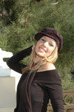 Gelukkige Glimlachende vrouw royalty-vrije stock foto