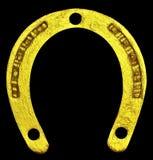 Gelukkige gouden hoef. Royalty-vrije Stock Foto's