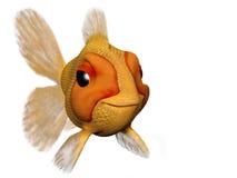 Gelukkige goudvis Royalty-vrije Illustratie