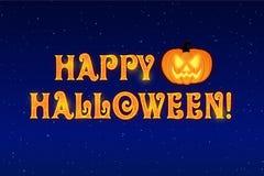 Gelukkige Halloween-achtergrond stock fotografie