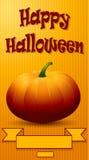 Gelukkige Halloween-achtergrond Stock Afbeeldingen