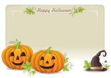 Gelukkige Halloween-achtergrond Royalty-vrije Stock Fotografie