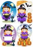 Gelukkige Halloween-Dag Stock Afbeelding
