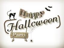 Gelukkige Halloween-partij Stock Foto's