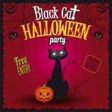 Gelukkige Halloween-Partijvlieger Royalty-vrije Stock Foto's