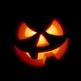 Gelukkige Halloween Pompoen Royalty-vrije Stock Foto's