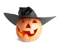 Gelukkige Halloween-pompoen stock foto's