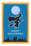 Gelukkige Halloween-vakantieachtergrond Stock Fotografie