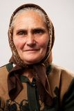 Gelukkige hogere vrouw Royalty-vrije Stock Fotografie