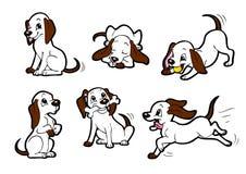 Gelukkige hond royalty-vrije illustratie