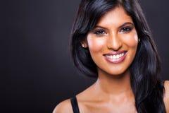 Jonge Indische vrouw royalty-vrije stock foto's