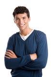 Gelukkige jonge Latijnse mens Stock Afbeelding
