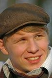 Gelukkige jonge mens Royalty-vrije Stock Afbeelding