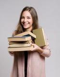 Gelukkige jonge student. royalty-vrije stock afbeelding