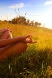 Gelukkige jonge vrouw Stock Fotografie