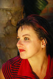 Gelukkige jonge vrouw Royalty-vrije Stock Foto's
