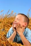 Gelukkige jongen Stock Afbeeldingen