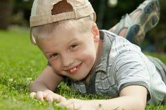 Gelukkige jongen Stock Afbeelding