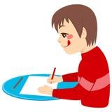 Gelukkige jongenstekening vector illustratie